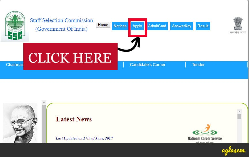 SSC Stenographer Grade C and D Recruitment 2017   Revised Date for Skill Test