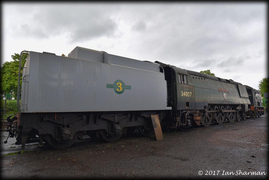 34007 >> No 34007 Wadebridge 20th May 2017 Mhr Ropley The Locomotiv Flickr