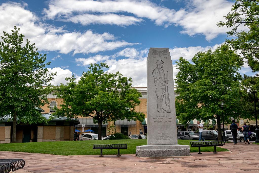 WW1 Memorial, Boulder Courthouse