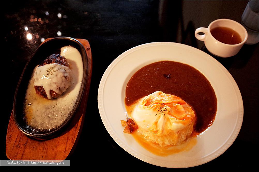 台中食記︱西區、異鄉人日式食堂.日式漢堡排與職人咖哩