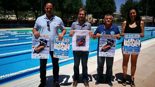 Presentación campeonatos de natación y waterpolo en Los Montecillos
