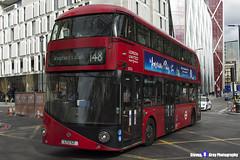 Wrightbus NRM NBFL - LTZ 1121 - LT121 - Shepherd's Bush 148 - RATP London United - London 2017 - Steven Gray - IMG_9535