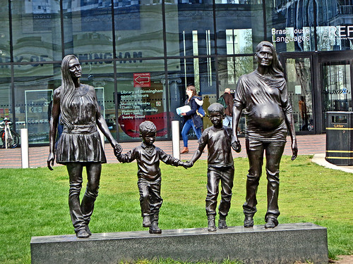 Centenary Square 17 - Family sculpture | by worldtravelimages.net