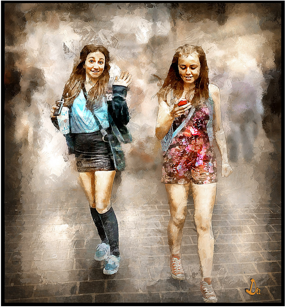 candid girls | they just reacted spontaneous when they spott… | flickr