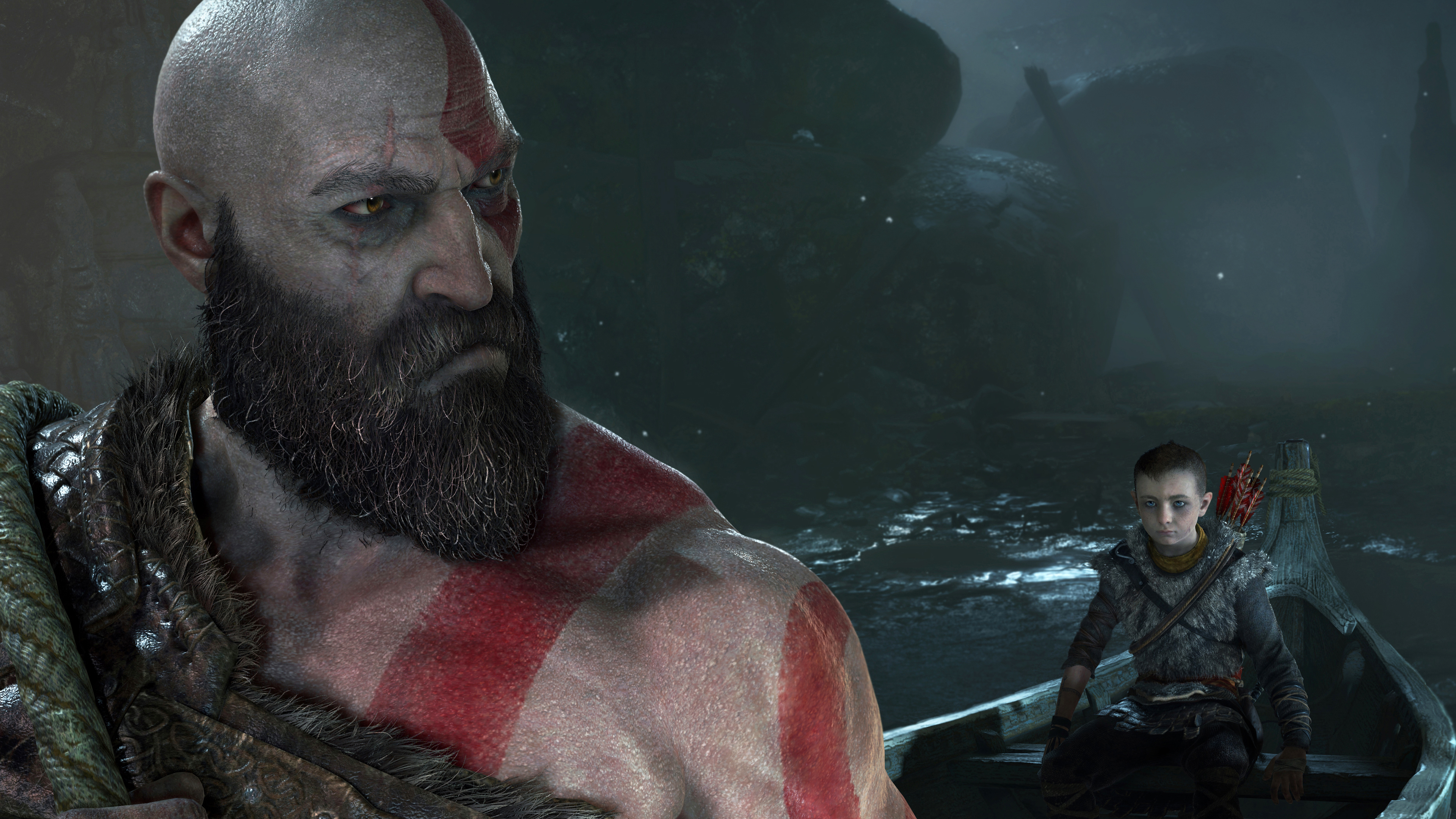 La relación padre-hijo, fundamental en God of War