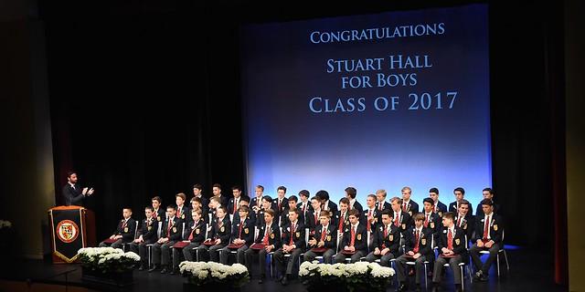 Stuart Hall for Boys Graduation 2017