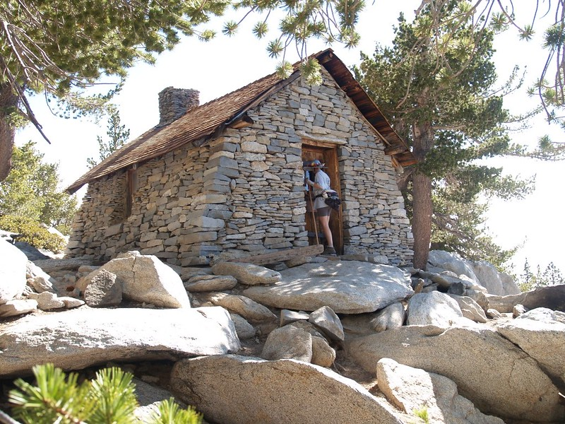 Checking out the San Jacinto Peak Summit Hut