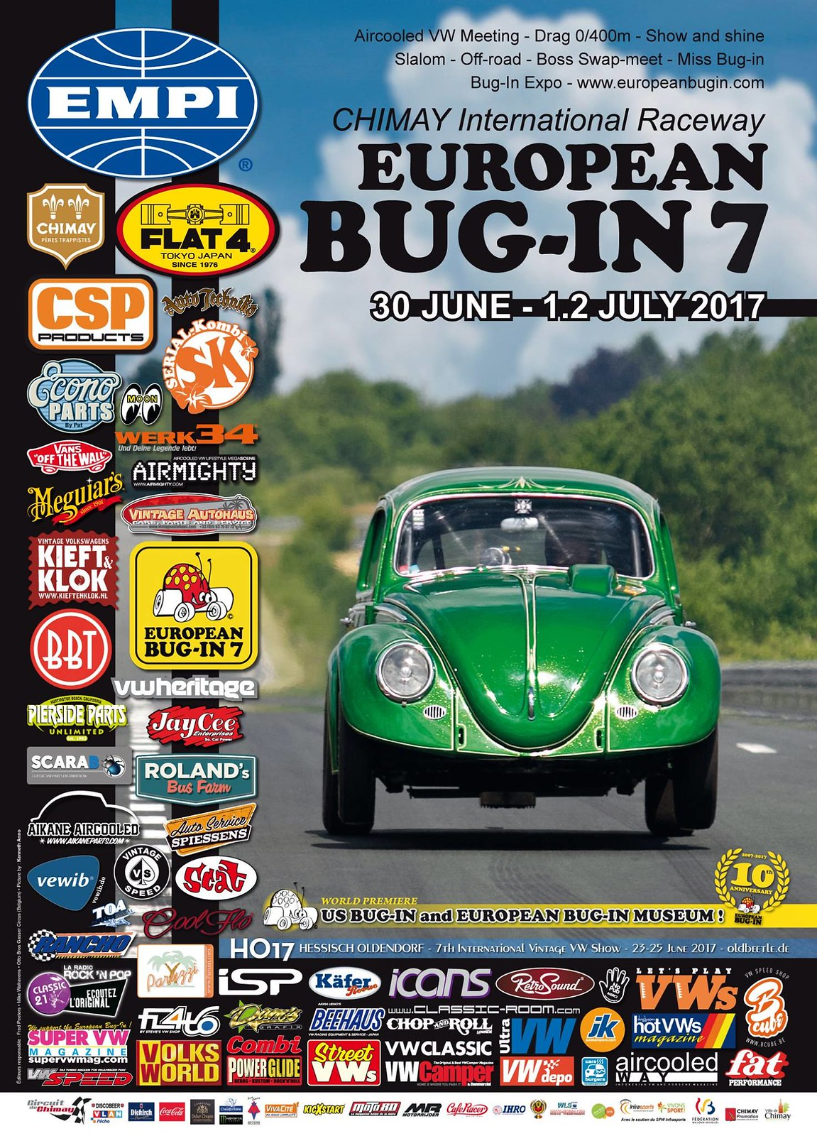 European Bug-In 7