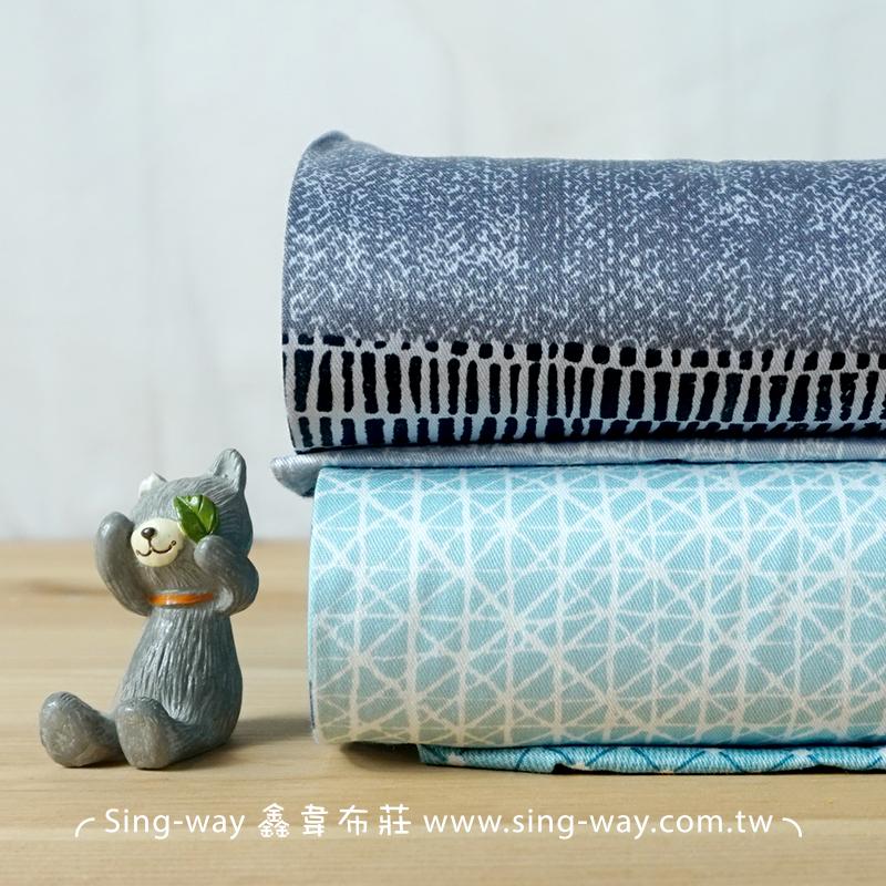 簡樸格紋 簡約方格 精梳棉床品床單布料 CA490361