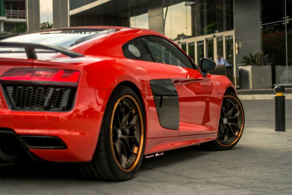 Remote Car Starter App >> HRE Wheels | Audi R8 with HRE S201 Wheels in Satin Bronze ...