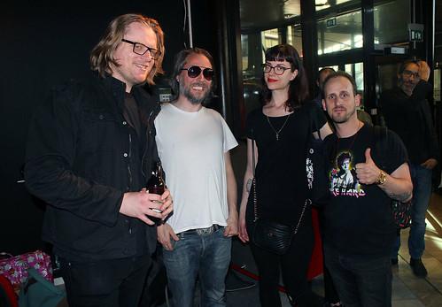 Johan Wanloo, Johan Kimrin, Loka Kanarp & Kim W. Andersson.