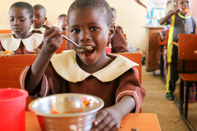 Orange-fleshed sweetpotato in school meals to improve nutrition, generate income in Nigeria
