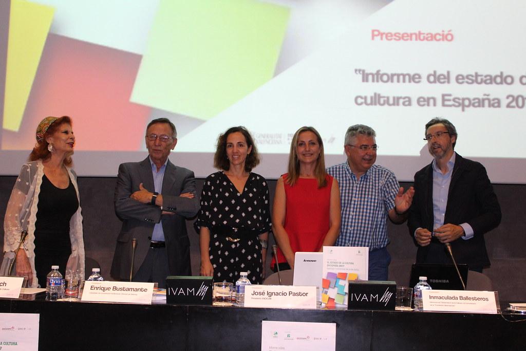 20170613 Presentació Informe sobre el Estado d ela Cultura en España 2017