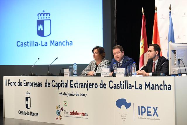 Inauguración del II Foro de Capital Extranjero
