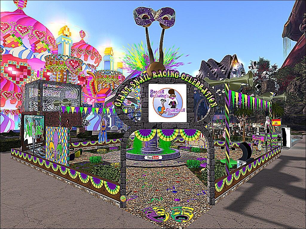 SL14B -Electrify - Giant Snail Races Celebration | Visit thi