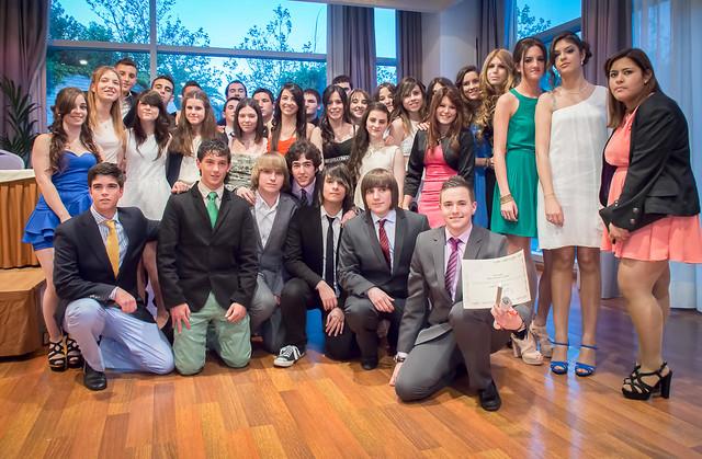 Graduación de 2º de Bachillerato. 2013