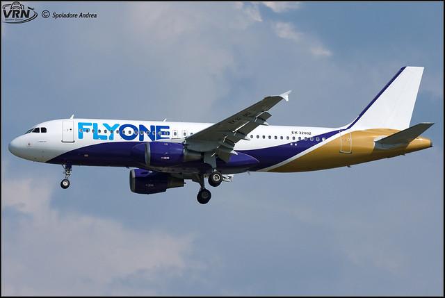 Airbus A320-211 - FlyOne (YanAir) - EK-32002 - @VCE/LIPZ