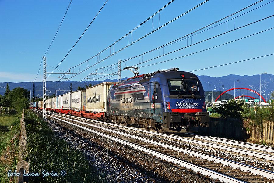 Bb 1216 019 rail cargo carrier italia la taurus bb for B b italia carugo