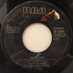 EVELIN KING:I'M IN LOVE(LABEL SIDE-A)