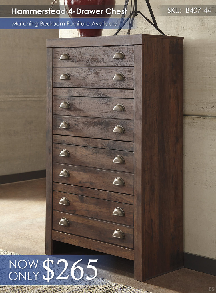 Hammerstead 4Drawer Chest B407-44