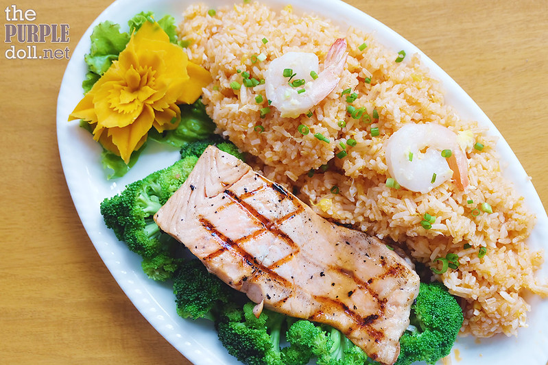 Teriyaki Salmon Dinner (P520)