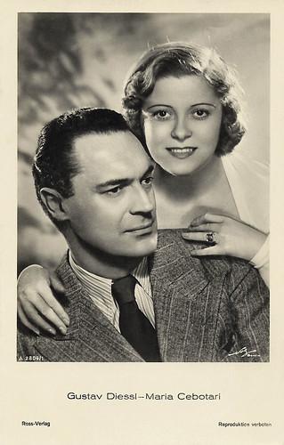 Gustav Diessl and Maria Cebotari