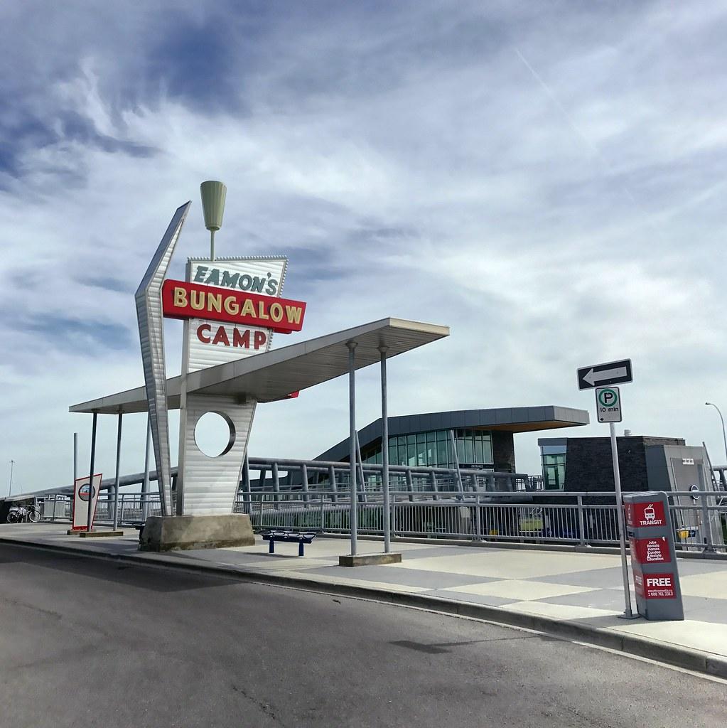 Tuscany CTrain station, Calgary, Alberta, Canada