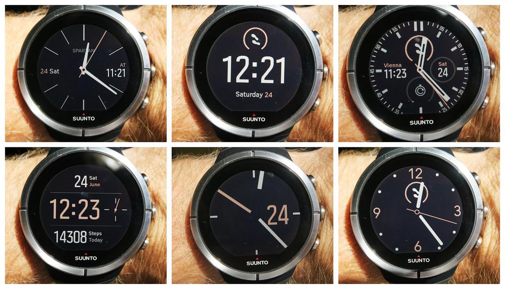 Τα watch faces του Suunto Spartan Ultra. Το ένα καλύτερο από το άλλο!