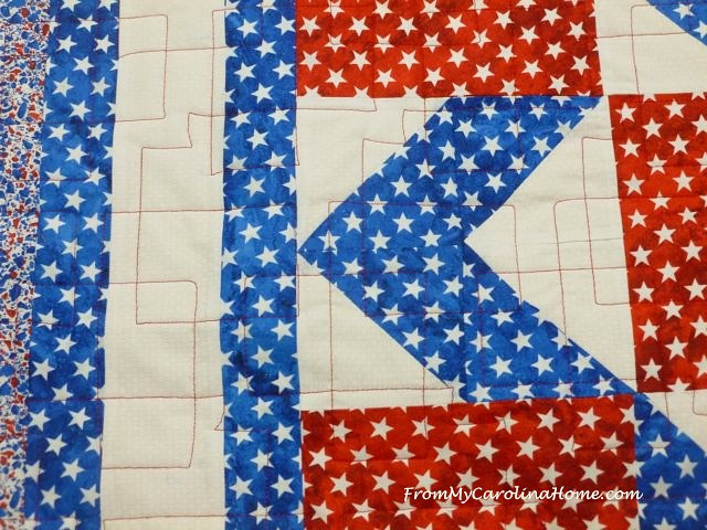 Quilt of Valor Diamonds at From My Carolina Home