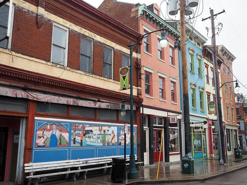 Over-the-Rhine neighborhood in Cincinnati