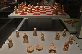 London - British Museum Lewis Chessmen