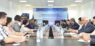 USAID and Uzpharmsanoat join forces to improve the quality of Tuberculosis medicines in Uzbekistan