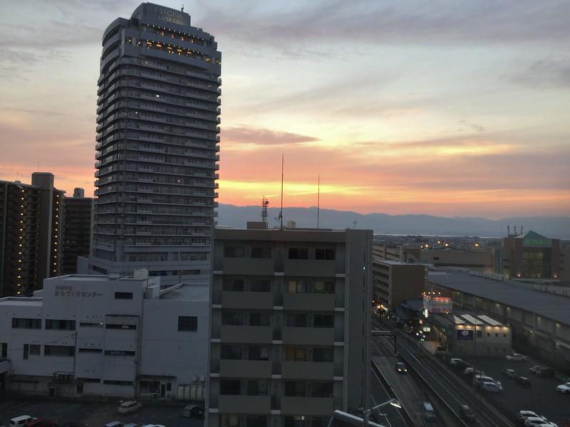 Hotel Boston Plaza Kusatsu-房間望出的風景