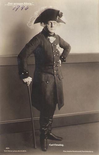 Carl Clewing in Der grosse König