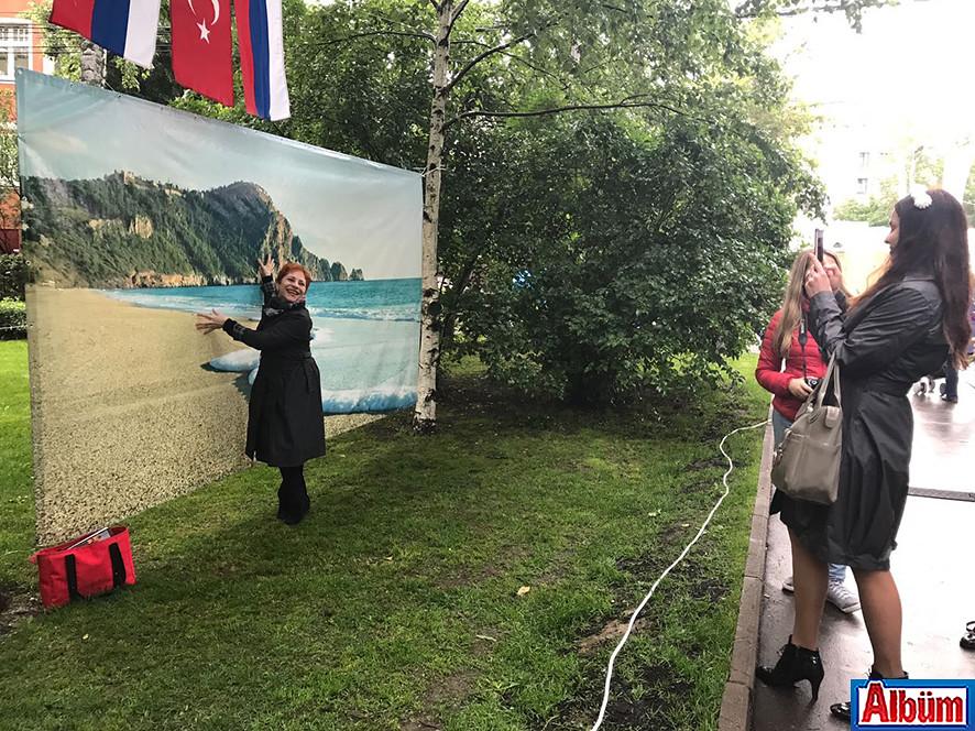 Moskova Krasnaya Presnya Parkı Türkiye Festivali7