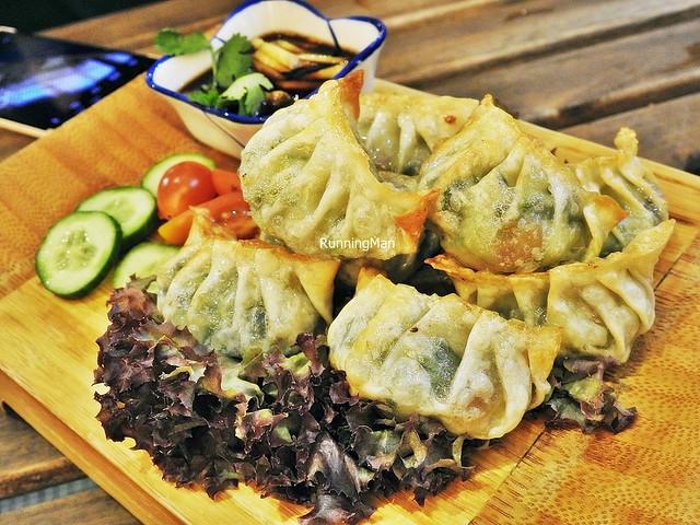 Seafood Gyoza