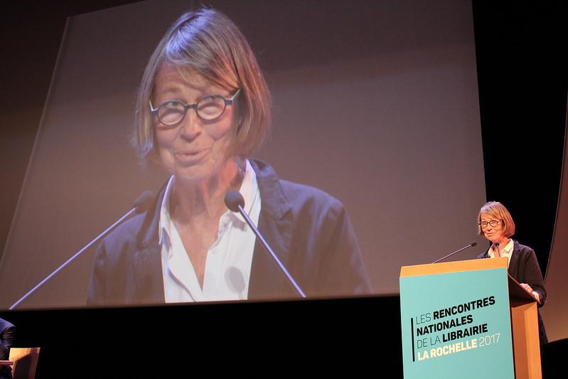 Françoise Nyssen, ministre de la Culture