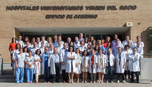AionSur 35414642131_90dd5f71ef_d El Virgen del Rocío, tercer centro sanitario público con 17 unidades de referencia nacional Salud