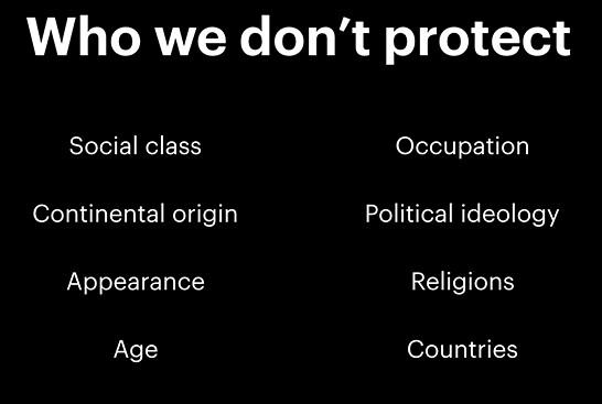 Кого защищают в Facebook