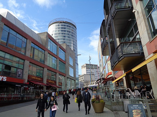 Bullring 64 - towards the Rotunda skyscraper | by worldtravelimages.net