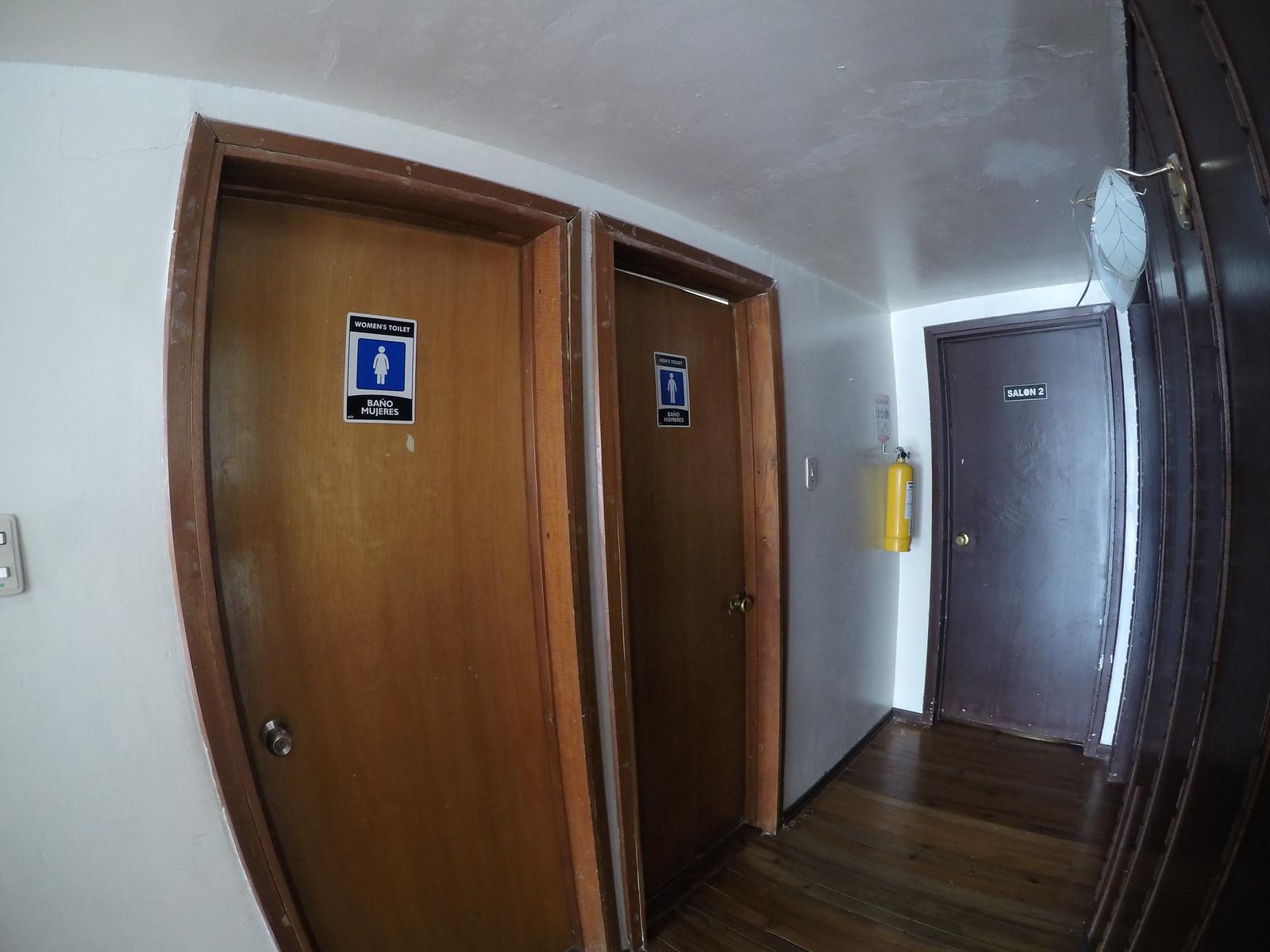 Espacio para alquilar – Baños mujeres y hombres 2do piso