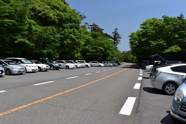 大浪池登山口駐車場