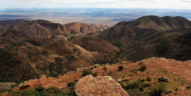 Another Dutchman's Stern Summit View, Flinders Ranges, South Australia