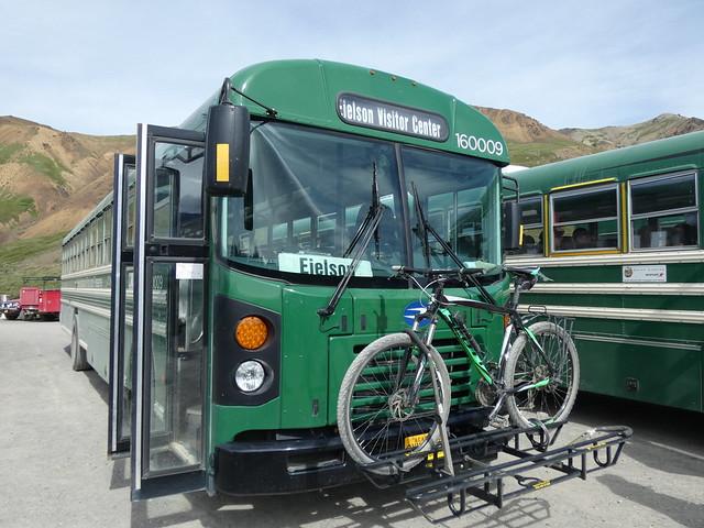Autobus de Denali (Alaska)