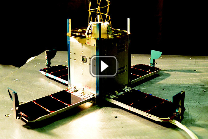 Science in 60 - Tiny satellites, big science