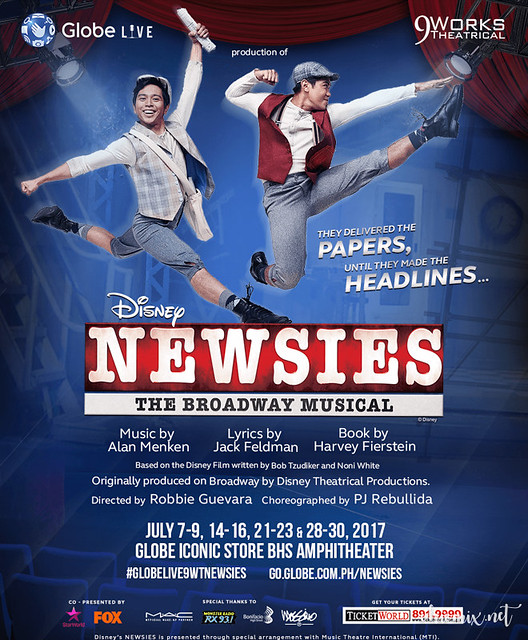 10 Must Know Facts about Disney's Newsies | Globe Live and 9 Works Theatrical Production