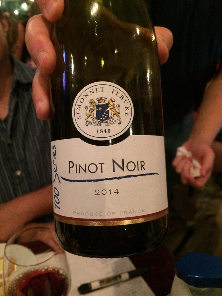 Simonnet Febvre Pinot Noir 2014