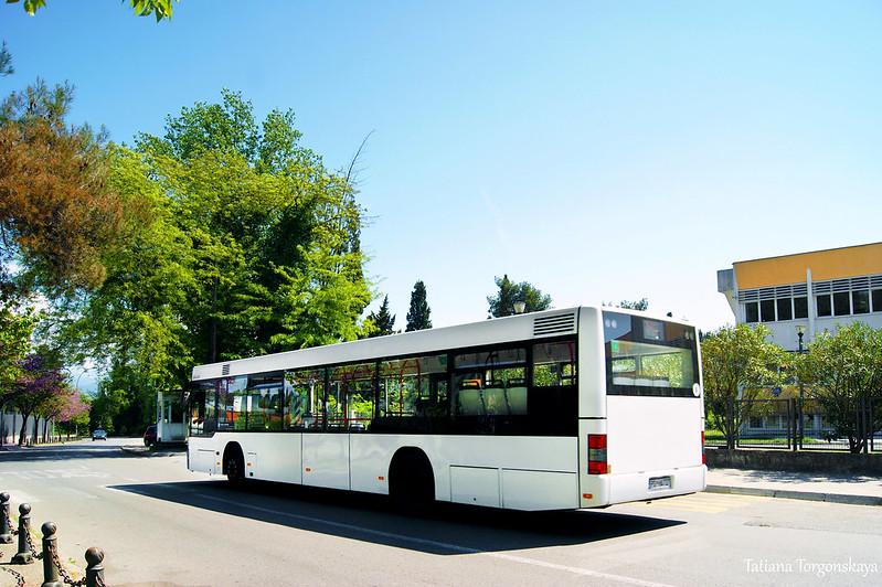 Городской автобус в Подгорице