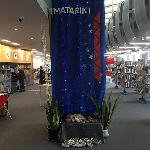 Matariki display, New Brighton Library