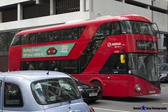 Wrightbus NRM NBFL - LTZ 1225 - LT225 - Clapton Pond 38 - Arriva - London 2017 - Steven Gray - IMG_9122